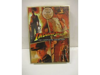 Indiana Jones Quadrilogy - The Complete Adventure Collection - MKT FINT SKICK!