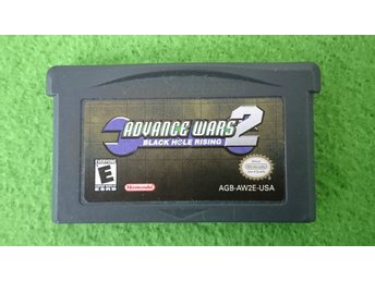 Advance Wars 2 Black Hole Rising Gameboy Advance Nintendo GBA