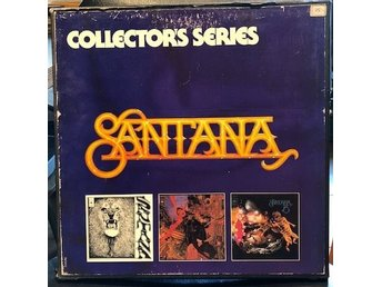 SANTANA - Collectors Series Box  3 album. No 1824 HOL press
