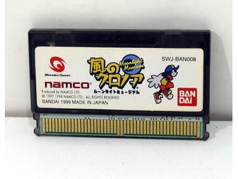 Kaze no Klonoa Moonlight Museum till Wonderswan