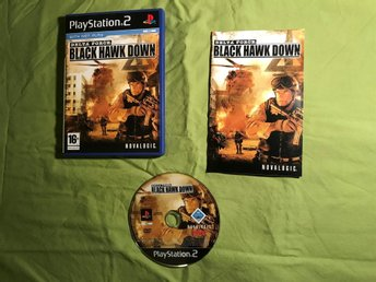 DELTA FORCE BVLACK HAWK DOWN  PS2 PLAYSTATION 2 FINT SKICK