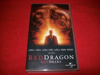 RED DRAGON  - VHS