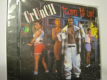 CrUnCH Turn it up CD ny inplastad 1995