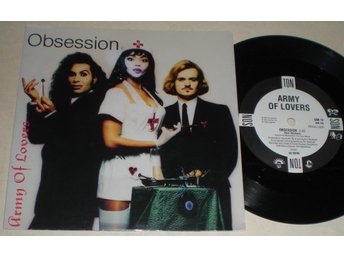 Army Of Lovers 45/PS Obsession 1991 VG++