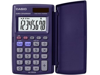 Casio HS 8 VER Euro kalkulator - Höganäs - Casio HS 8 VER Euro kalkulator - Höganäs