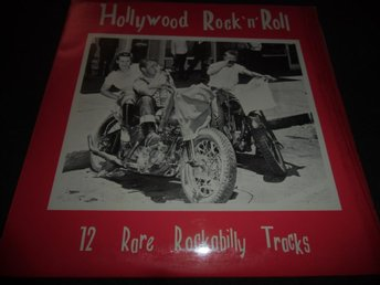 Hollywood rock n roll - 12 rare rockabilly - LP - 1977