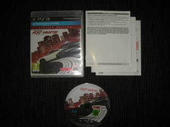 PS3 Need for Speed Most Wanted Limited Edition