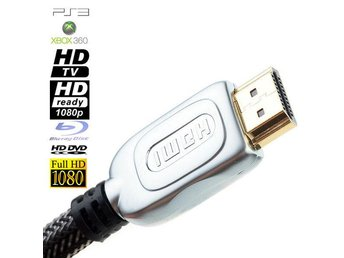 NY HDMI 1.4 Kabel - 1.8m Full HD 1080i för Xbox PS3 TV DVD