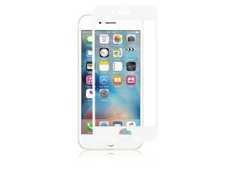 Panzer F-F Curved Silicate Glass Screenprotector iPhone 6S/6 - Vit