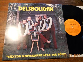 DELSBOLIGAN - Säxton kvivskarpe låta' mä tôfs, GM-Production LP 1976