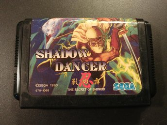 Shadow Dancer : The Secret of Shinobi till Mega Drive - Beat em Up - Japansk