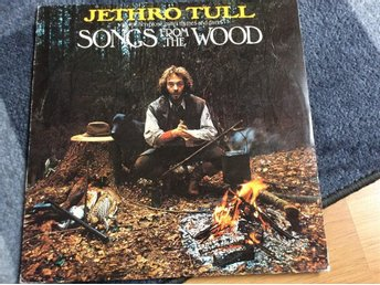JETHRO TULL LP Songs from the Wood Svenska utgåvan 1977