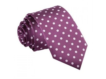 Lila Polka Dot Slips _ Slim