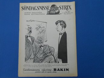 Söndags-Nisse Strix nr 36 1936