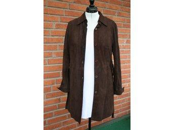 Mocca skjorta lång jacka i brun färg storlek 44 - Sundsvall - Mocca skjorta lång jacka i brun färg storlek 44 - Sundsvall