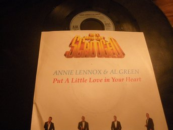 annie lennox & al green put a little love in your heart singel