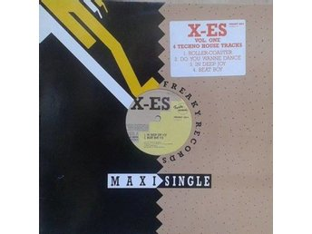 "X-es title* Vol. One* Techno 12""-maxi Netherlands"