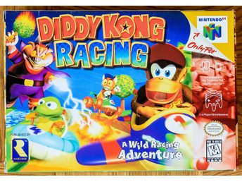 Diddy Kong Racing - Nintendo 64 N64 - NTSC USA