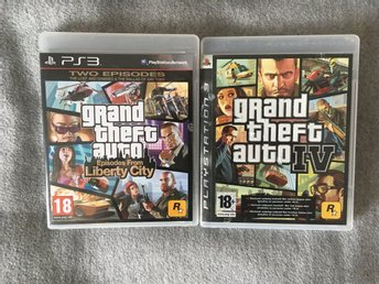 Grand Theft Auto IV (GTA 4) + Episodes From Liberty City / PlayStation 3 PS3