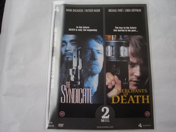 DVD-THE SYNDICATE & MERCHANTS OF DEATH