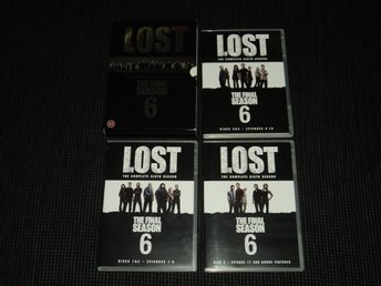 DVD Box Lost Säsong 6
