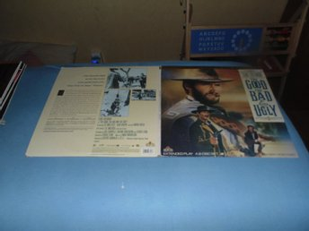 The Good The Bad The Ugly - Deluxe letterbox edition -2st Laserdisc