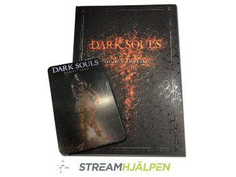 Dark Souls Art of the Trilogy + Dark Souls Remaster Steel Art Plate