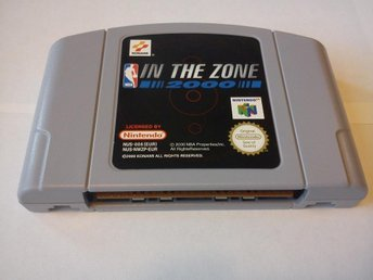N64: In the Zone 2000 (Enbart kassett!)
