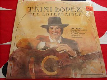 TRINI LOPEZ - THE ENTERTAINER LP 1981 SEALED