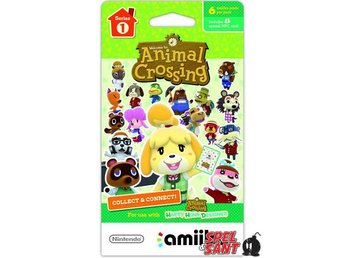 Series 1 Animal Crossing amiibo cards Pack (3 Set)