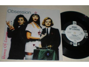 Army Of Lovers 45/PS Obsession 1991 M-