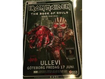 Iron Maiden 2016 Ullevi