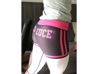 Six deuce tights träningstights fitness träning S 34/36 rosa svart vit Nya! - Trollhättan - Six deuce tights träningstights fitness träning S 34/36 rosa svart vit Nya! - Trollhättan