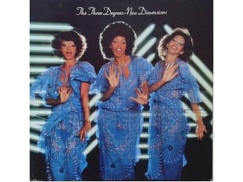 The Three Degrees title* New Dimensions* Disco LP Germany
