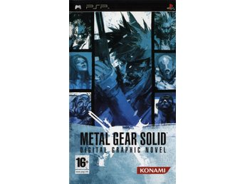 PSP - Metal Gear Solid: Digital Graphic Novel (Beg)