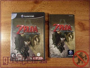 Zelda Twilight Princess till Gamecube / GC
