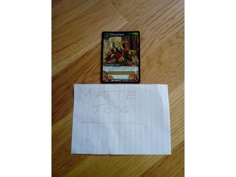 World of Warcraft TCG - Vicious Grell. Crown of The Heavens LOOT Kort