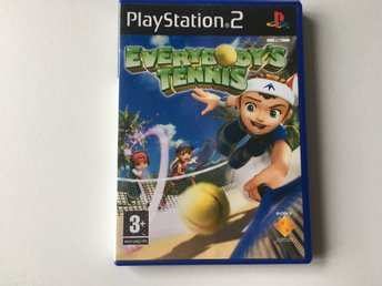 PS2 - Everybody Tennis - Tv-Spel
