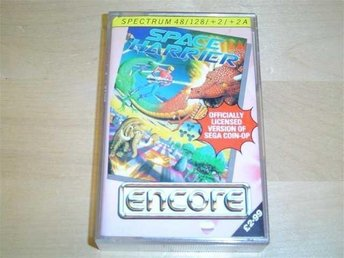 SPACE HARRIER SINCLAIR SPECTRUM *NYTT*