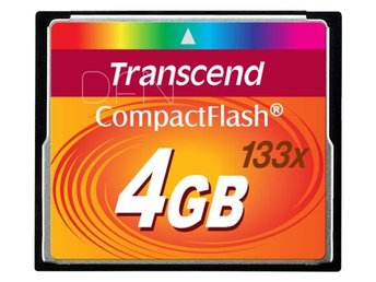 Transcend Compact Flash 4GB 133x