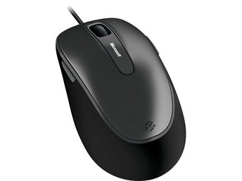 Microsoft Comfort Mouse 4500, BlueTrack, 5 knappar+scroll, USB, svart - Höganäs - Microsoft Comfort Mouse 4500, BlueTrack, 5 knappar+scroll, USB, svart - Höganäs