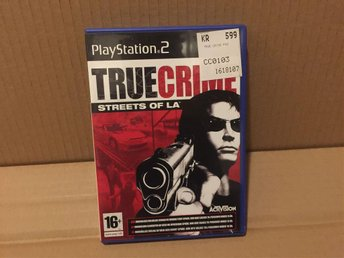 SPEL . True Crime: Streets of L.A . Till PS2 - i nyskick