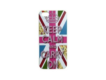 iPhone 5 silver Keep Calm skal - Färentuna - iPhone 5 silver Keep Calm skal - Färentuna