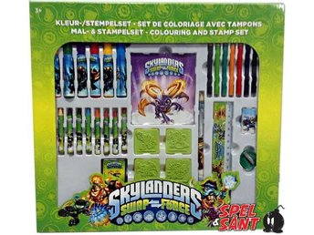 Skylanders Swap Force Colouring And Stamp Set