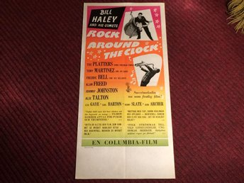 KULT-FILM ROCK AROUND THE CLOCK Bill HALEY The PLATTERS Klassiker! FRI FRAKT