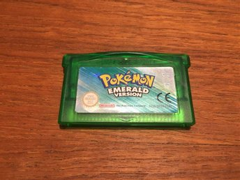 Game Boy Advance - Pokemon Emerald