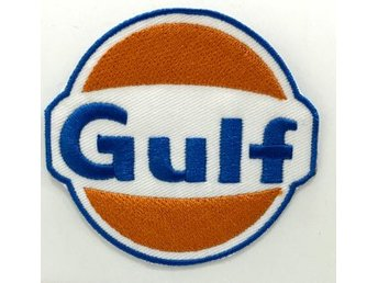GULF Tygmärke / Patch