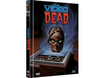 The VIDEO DEAD (1987) Lmtd MEDIABOOK DVD & BLURAY - UNCUT CULT!  333 ex - RARE