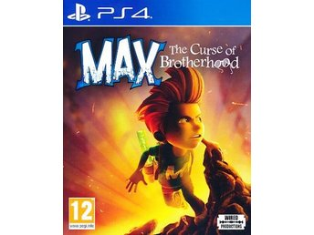Max The Curse of Brotherhood PS4 (PS4)