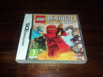 LEGO Ninjago The Video Game, DS, Komplett, Fint Skick!